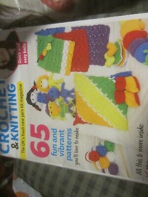 Your Crochet And Knitting Magazine Issue 9 With Adorable Toys To Make