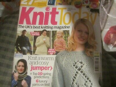 Knit Today Issue 56 With Collie Dog Pattern