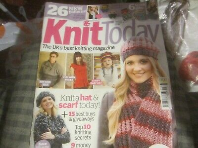 Knit Today Issue 55 With Meet The  Baldees Toys