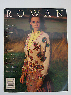Vintage Rowan Knitting Book number 7 1990s fashion reference