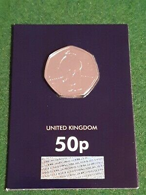 The Snowman 50p BUNC Certified Brilliant Uncirculated 2019 In Capsule BU 1