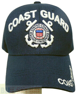 US Coast Guard Seal 1790 Semper Paratus Unisex Curved Bill Soft Cap Hat New gift
