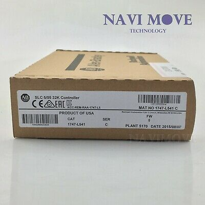 New Factory Sealed Allen Bradley 1747-L541 /C SLC 500 CPU Controller Processor