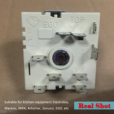 Energy Regulator 50.57021.010 Stepless Switch Part for Cooking Equipments Fridge