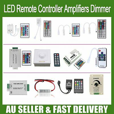 RF IR LED Remote Controller Amplifiers Dimmer for RGB 3528 5050 LED Strip Light
