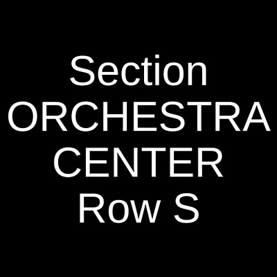 4 Tickets Dolly Parton's Smoky Mountain Christmas Carol 12/24/19 Boston, MA