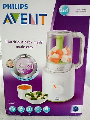 Philips Avent STEAMER BLENDER 2-in-1 Healthy Baby Food Maker