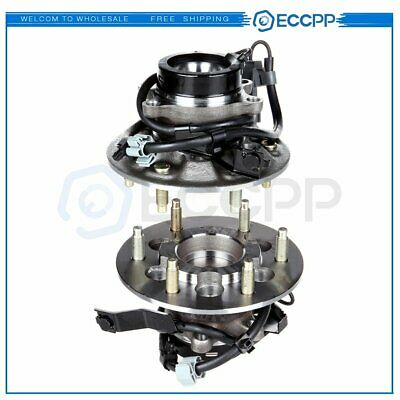ECCPP Front Wheel Hub Bearing Assembly 6 Lugs w//ABS for 04-08 Chevy GMC Compatible with 515104