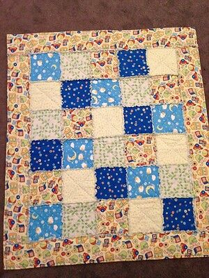 Brand New Handmade With Love Baby Cot Quilt