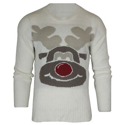 Ladies Womens Mens Christmas Party Xmas Novelty Knitted Jumpers Jumper Oversize