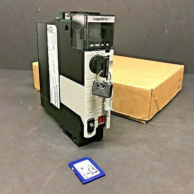 2016 New Allen Bradley 1756-L72 Ser B ControlLogix 5572 CPU 4MB Never Flashed