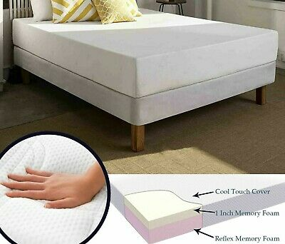 Visco Memory Foam Reflex Mattress Available in All sizes and Depths with Cover