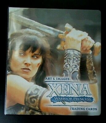 Xena Warrior Princess Art & And Images trading cards binder album, no cards