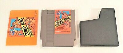 Donkey Kong Classics (Nintendo Entertainment System, 1988) AUTHENTIC + TESTED