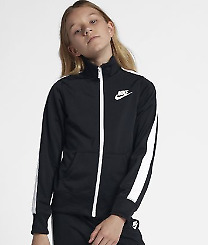 Nike Sportswear Warm-Up Older Kids Girls  Tracksuit Jacket Top Large  *REF102
