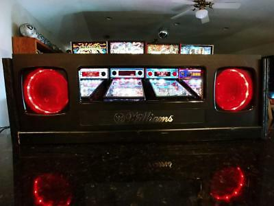 Junk Yard pinball machine Lighted Speakers for aftermarket game speakers
