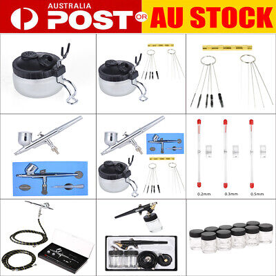 Professional Airbrush Accessories Air Brush Cleaning Repair Tools Kit Airbrushes