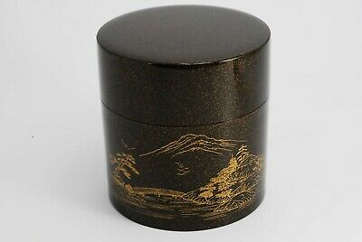 Japanese Lacquer Tea Ceremony Tea Caddy NATSUME /298