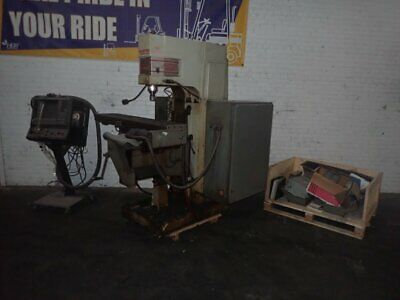 "Tree Journeyman 425 Cnc Vertical Mill  12"" X 52"" 07190301287"