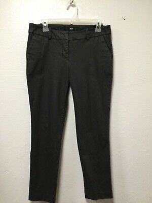 Mossimo Womens Pants Size 6 Black Stretch Extensible Front Pockets 213