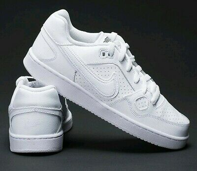 New Womens Girls Nike Son of Force Air Force Triple White Trainers UK Size 3
