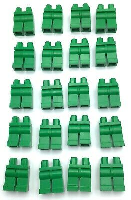 LEGO LOT OF 20 RED MINIFIGURE LEG PIECES PANTS BODY PARTS SORTED COLOR
