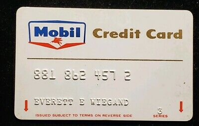 Mobil Credit Card♡Free Shipping♡cc510