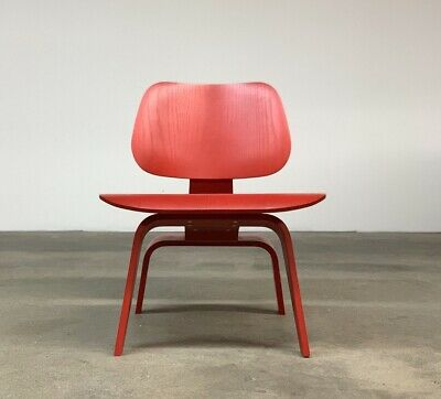 Herman Miller Eames Red LCW Chair