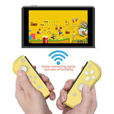 1 Pair Wireless Bluetooth Gamepad Controller For NS Switch Pro Joy-Con