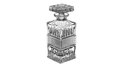 Crystal Whiskey Decanter Bohemia Brittany Collection