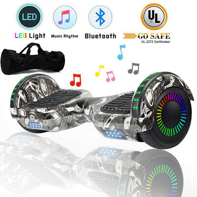 "6.5"" Bluetooth Hoverboard for kid UL2272 CE LED Self-balancing Scooter Bag"