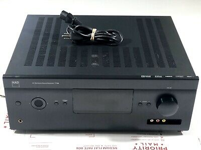 NAD T 758 (V1) 7.1 Channel Home Theater Receiver  Nice Condition