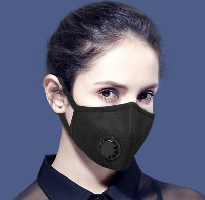 1/3Pcs Anti-Dust Mouth Face Masks Washable Cycling Pollen Mask Muffle Unisex