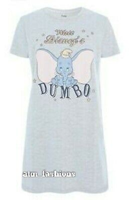 Primark Disney Dumbo Nightie Nightshirt for Ladies Top Gift New