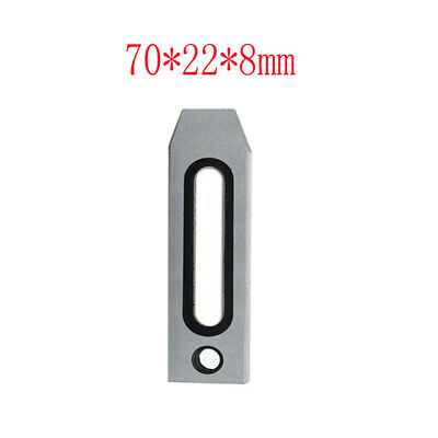 1X Wire EDM Stainless Jig Holder For Clamping 70 x 22 x 8mm M8 Screw Tool