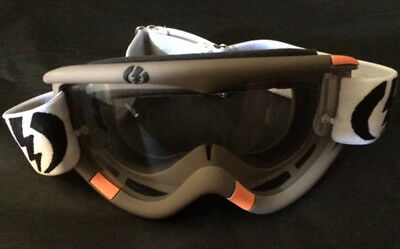 Masque jetski moto ski snow ELECTRIC Missile Grey / Clear - PWC