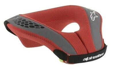 Alpinestars Sequence Kids Youth Motocross MX Foam Neck Roll Collar Red