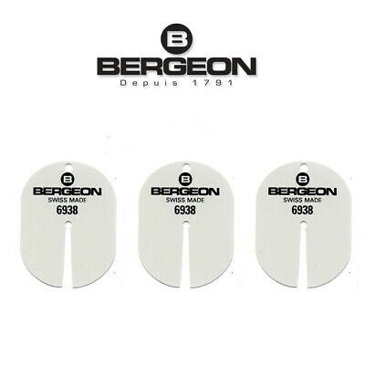 Bergeon 6938 Watch Dial Protector Package for Watchmakers x3