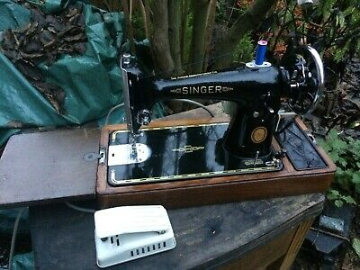 Vintage Singer 201K Electric Semi-Industrial Sewing Machine
