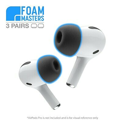 Apple AirPods Pro Memory Foam Ear Tips Replacement Complying Buds VERSION 2.0