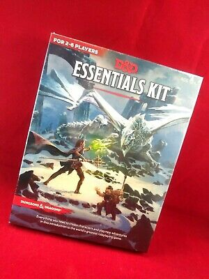 Dungeons & Dragons Essentials Kit (D&D Boxed Set) Game by Wizards RPG Team
