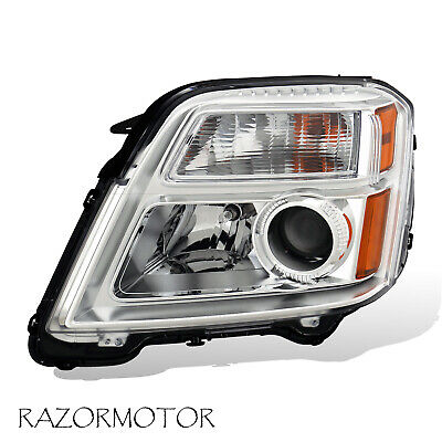 2010-2015 Driver Side Replacement Projector Headlight For GMC Terrain W/ Bulb