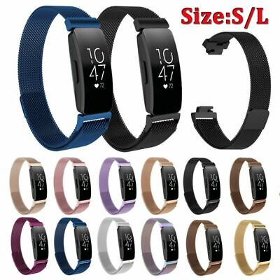 For Fitbit Inspire & Inspire HR Stainless Steel Metal Strap Watch Band Wristband