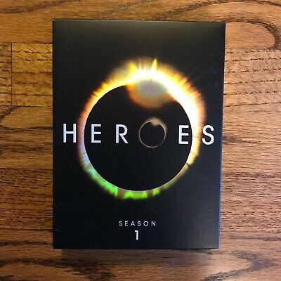 HEROES Season 1 DVD Box Set (The Best Season), Good Used