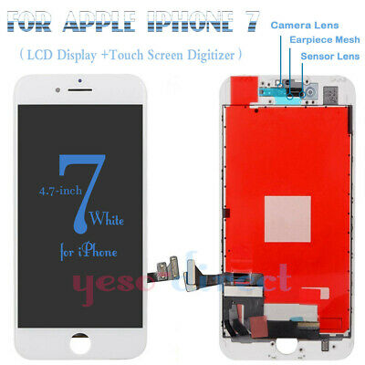 For iPhone 7 Screen Replacement  LCD 3D Touch Digitizer Display Assembly White