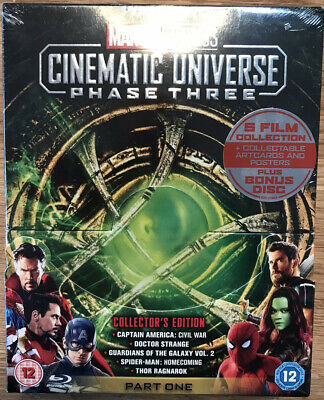 Marvel Studios Cinematic Universe: Phase Three - Part One, Collector's Edition