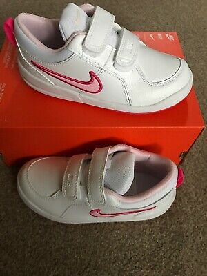 Nike Trainers Size 9.5 Toddler. Child. Infant. Girls. Vecro Fastening. New
