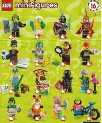 Lego minifigures series 19 new, opened to see figure and sealed free tracking