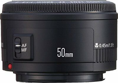 Canon Simple Focus Objectif Ef 50 mm F 1.8 II Complet Taille Compatible