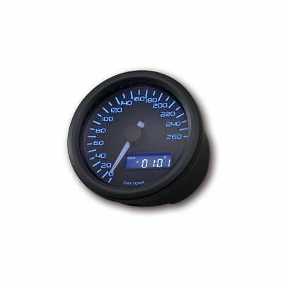 DAYTONA Velona 260 Speedometer 60mm Black